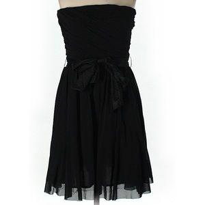 Zara strapless cocktail dress